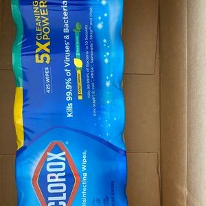 5-pack Clorox wipes 425 count